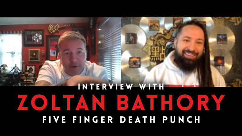 Interview with Zoltan Bathory of Five Finger Death Punch