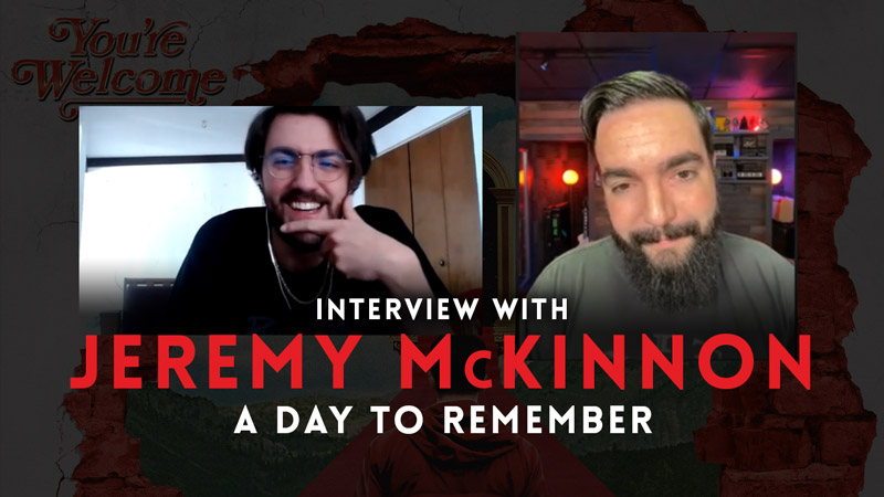Interview with Jeremy McKinnon (A Day to Remember)