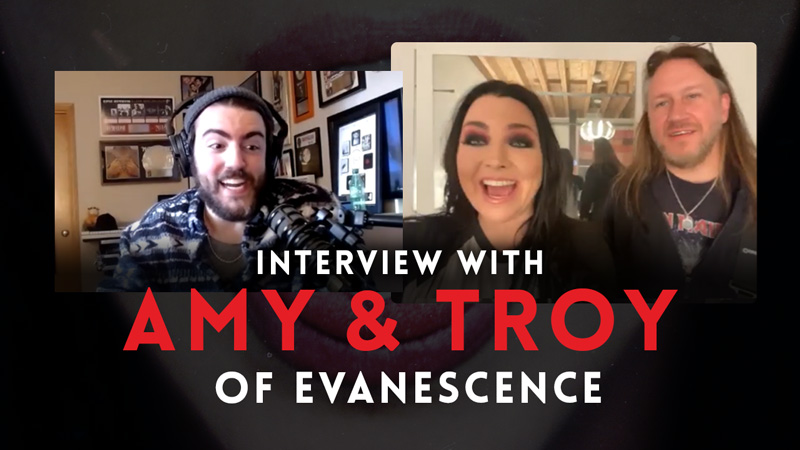 Interview with Amy Lee & Troy McLawhorn (Evanescence)