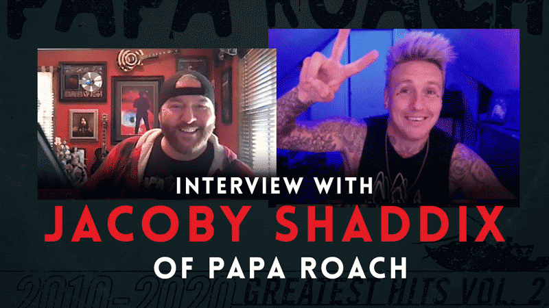 Interview with Jacoby Shaddix of Papa Roach