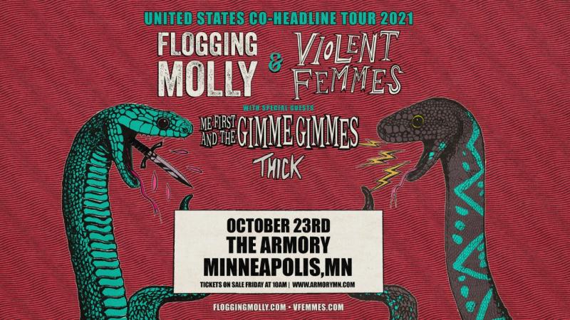 OCT 23 • Flogging Molly & Violent Femmes