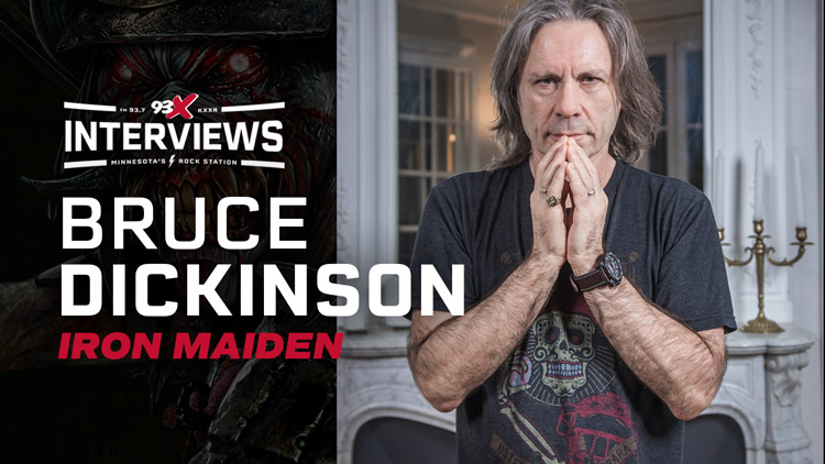 Interview with Iron Maiden's Bruce Dickinson