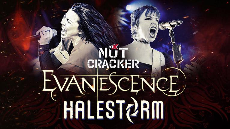 DEC 7 • 93X Nutcracker starring Evanescence and Halestorm