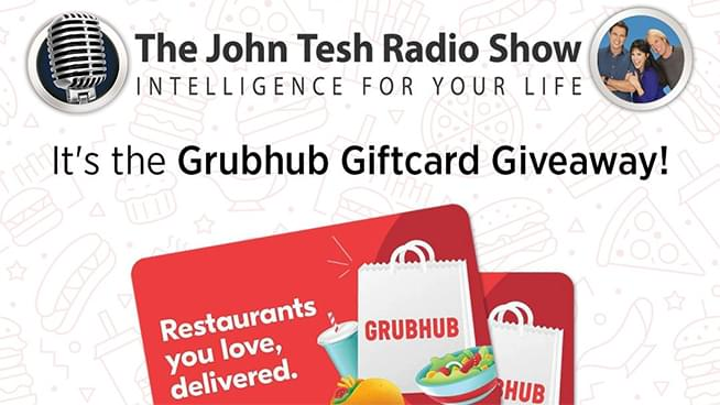 Enter to Win TWO GrubHub Gift Cards!