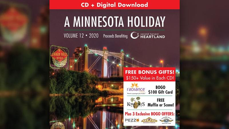 Enter to Win A Minnesota Holiday Vol. 12 Charity Album!