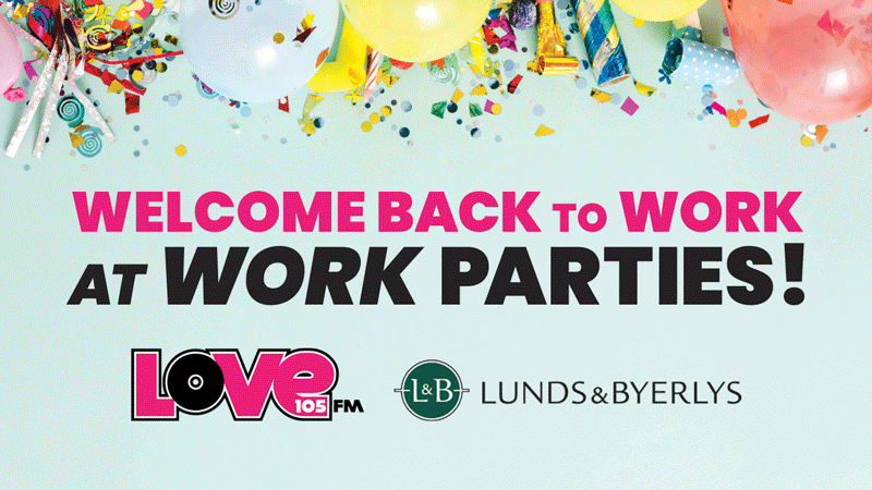 Win a 'Welcome Back to Work at Work' Party for Your Office!