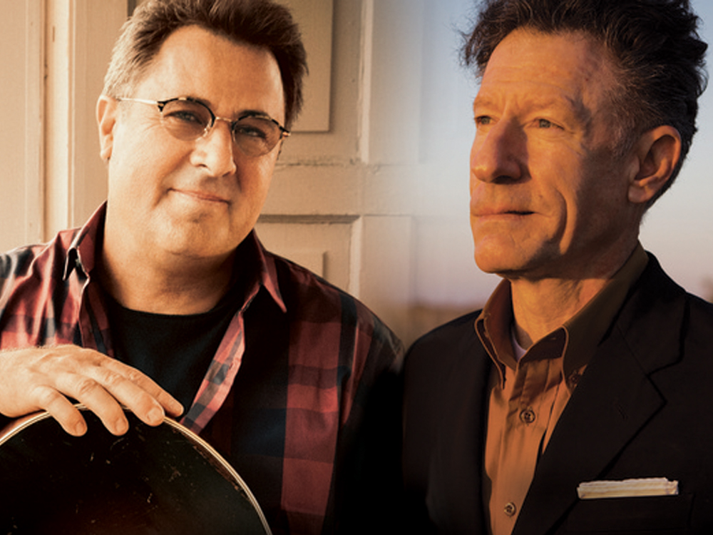 "Vince Gill and Lyle Lovett Team Up for the Third Installment of ""Songs and Stories Tour"""