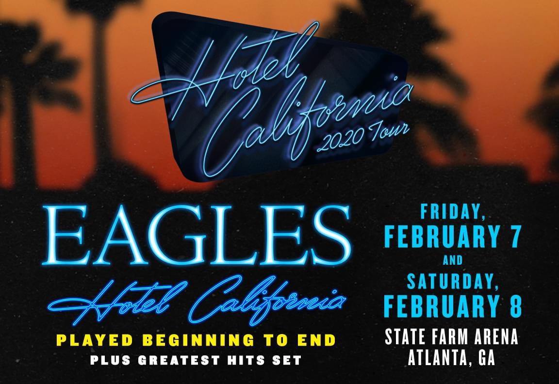 Feb 7 & 8 – The Eagles