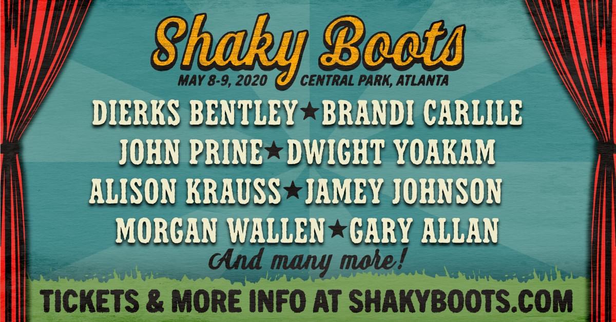 May 8 & 9 – Shaky Boots