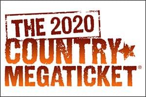 2020 Country Mega Ticket