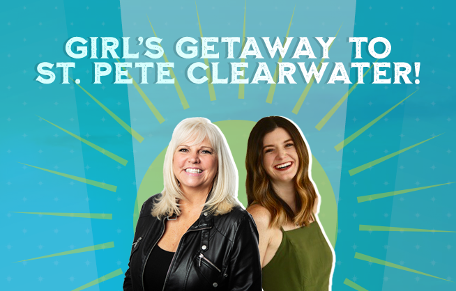 Girl's Getaway To St. Pete Clearwater!