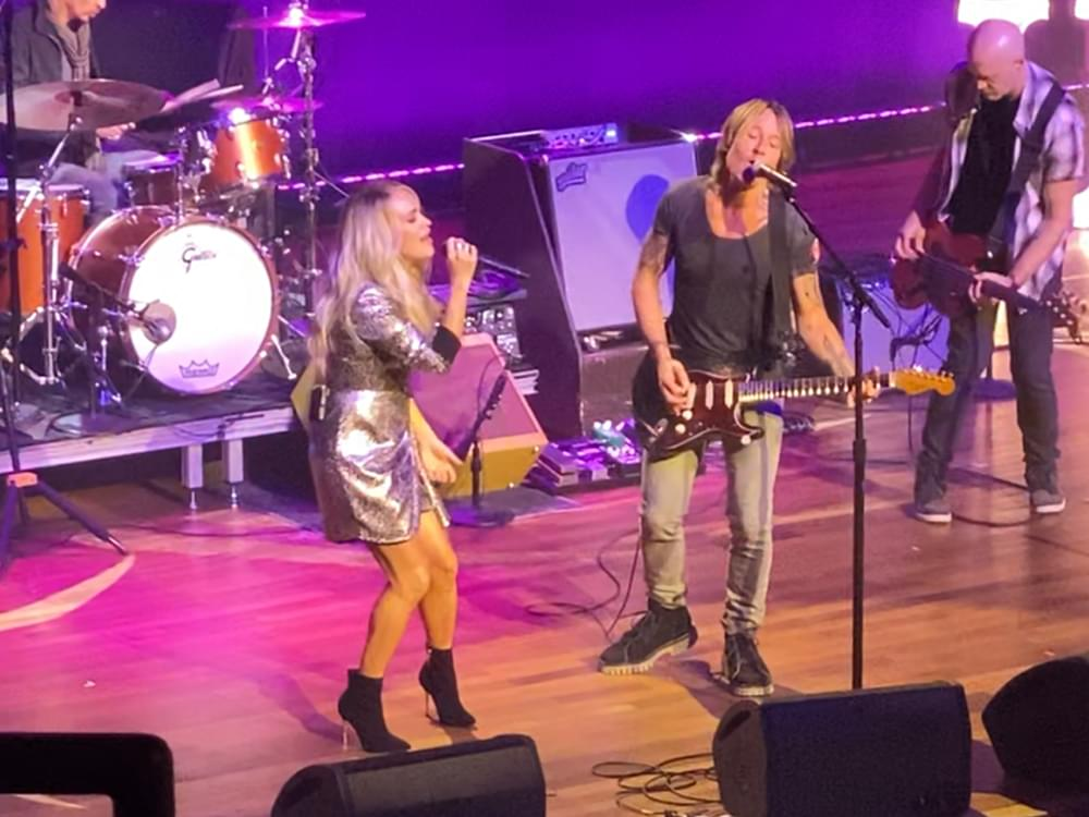 """Watch Carrie Underwood & Keith Urban Reunite for Performance of """"The Fighter"""" at Country Radio Seminar"""