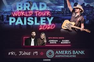 June 19 – Brad Paisley