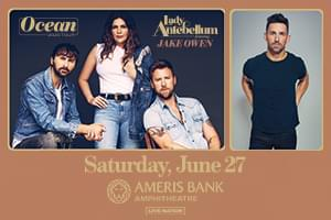 June 27 – Lady Antebellum