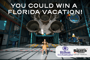 YOU COULD WIN A FLORIDA VACATION
