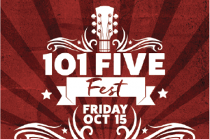 WIN TICKETS TO 101FIVE FEST