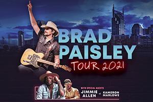 Jul 24, 2021 – Brad Paisley