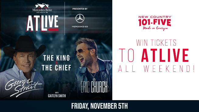 Win 4 Tickets to See George Strait & Eric Church at ATLive