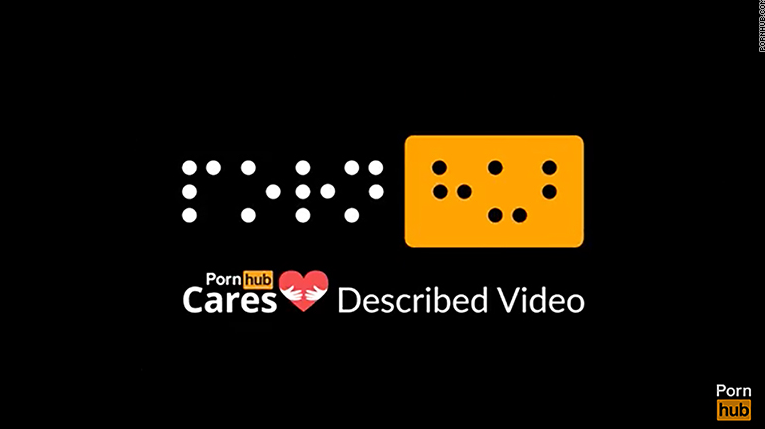 Pornhub Now Offers Porn For Visually Impaired