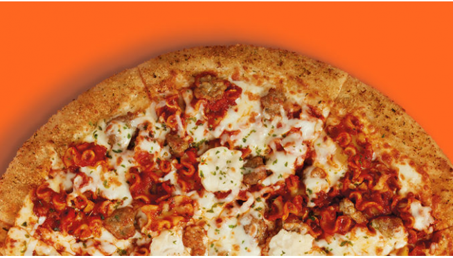 This is not a drill! Lasagna pizza is here.