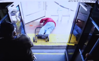 Woman pushed elderly man off bus, leading to his death, after he told her to be nice