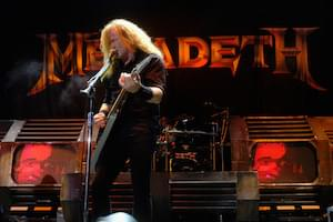 Dave Mustaine of Megadeth Diagnosed with Throat Cancer