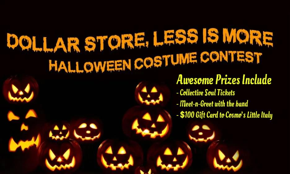 Dollar Store, Less Is More, Halloween Costume Contest 2019
