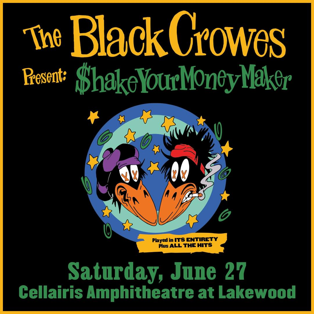 Jun 27 – The Black Crowes