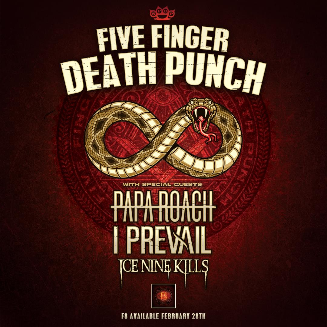 NEW DATE: Sep 30 – Rock 100.5 Presents: Five Finger Death Punch