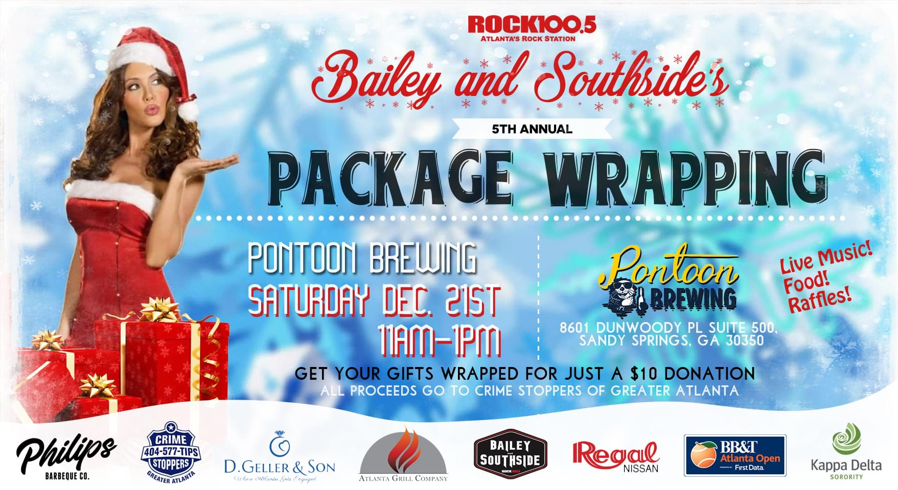 5th Annual Bailey and Southside Package Wrapping