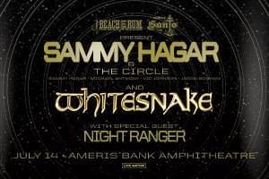 July 14 – Sammy Hagar