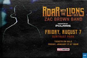 Aug 7 – Zac Brown Band