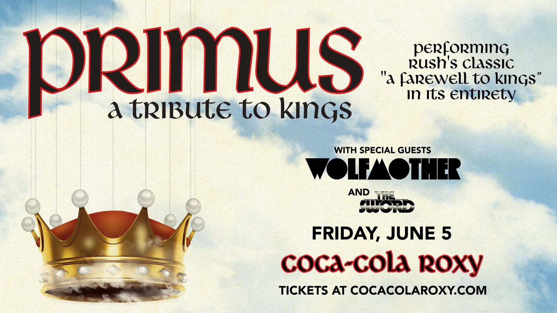 June 5 – Primus