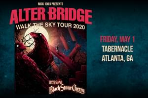 May 1 – Rock 100.5 Presents Alter Bridge