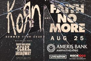 Aug 25 – Rock 100.5 Presents KoRn