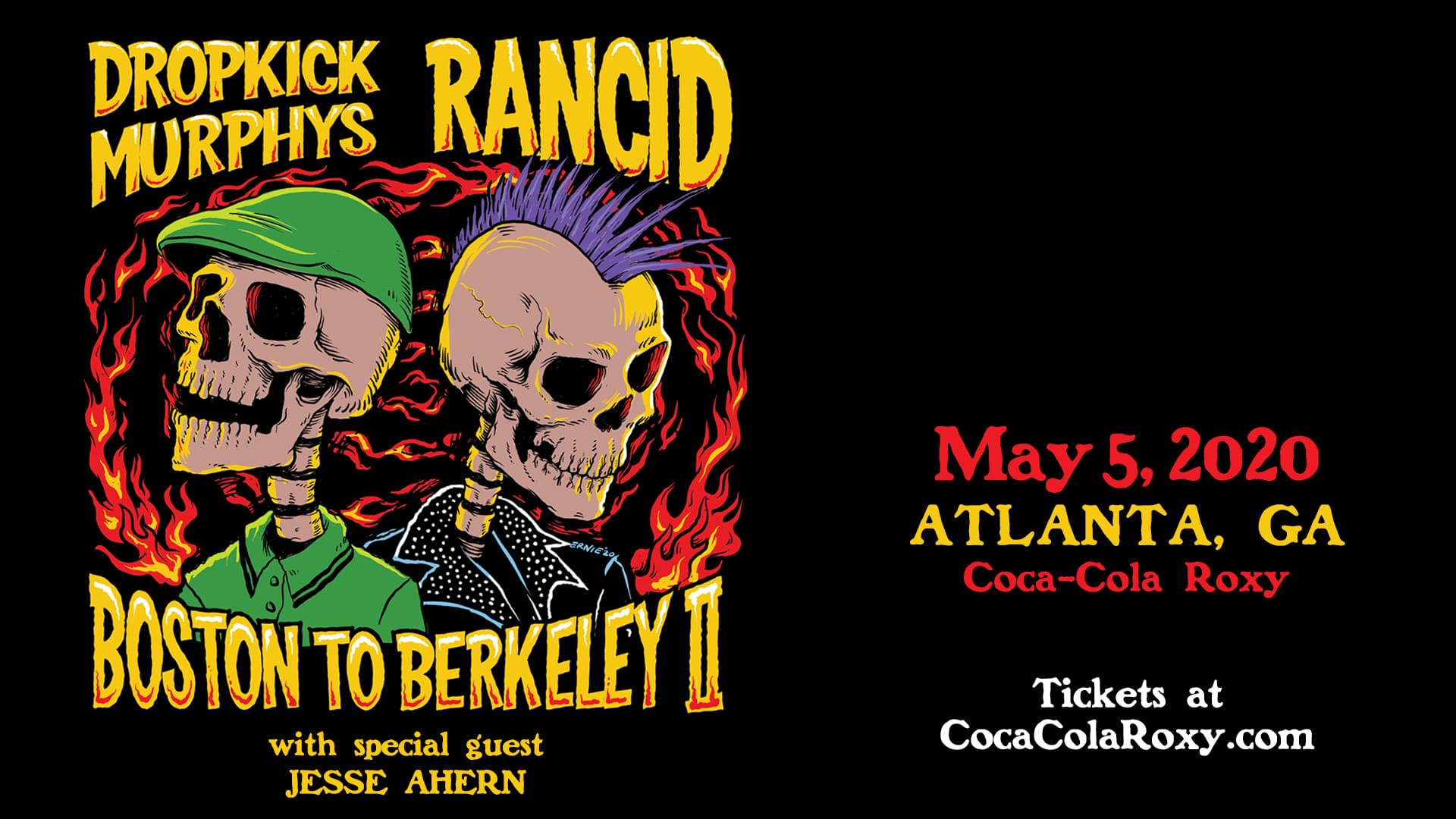 May 5 – Dropkick Murphys & Rancid