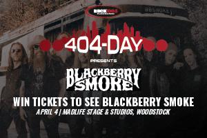 ROCK 100.5 Presents: 404-Day w/ Blackberry Smoke