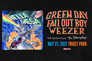 Jul 27 – The Hella Mega Tour Featuring Green Day, Fall Out Boy, & Weezer