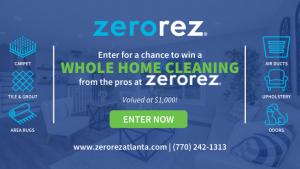 Zerorez Carpet Cleaning Contest