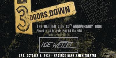 Oct 9 – 3 Doors Down