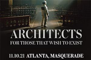 Nov 10 – Rock 100.5 Presents Architects