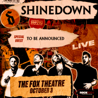Oct 3 – Rock 100.5 Presents Shinedown