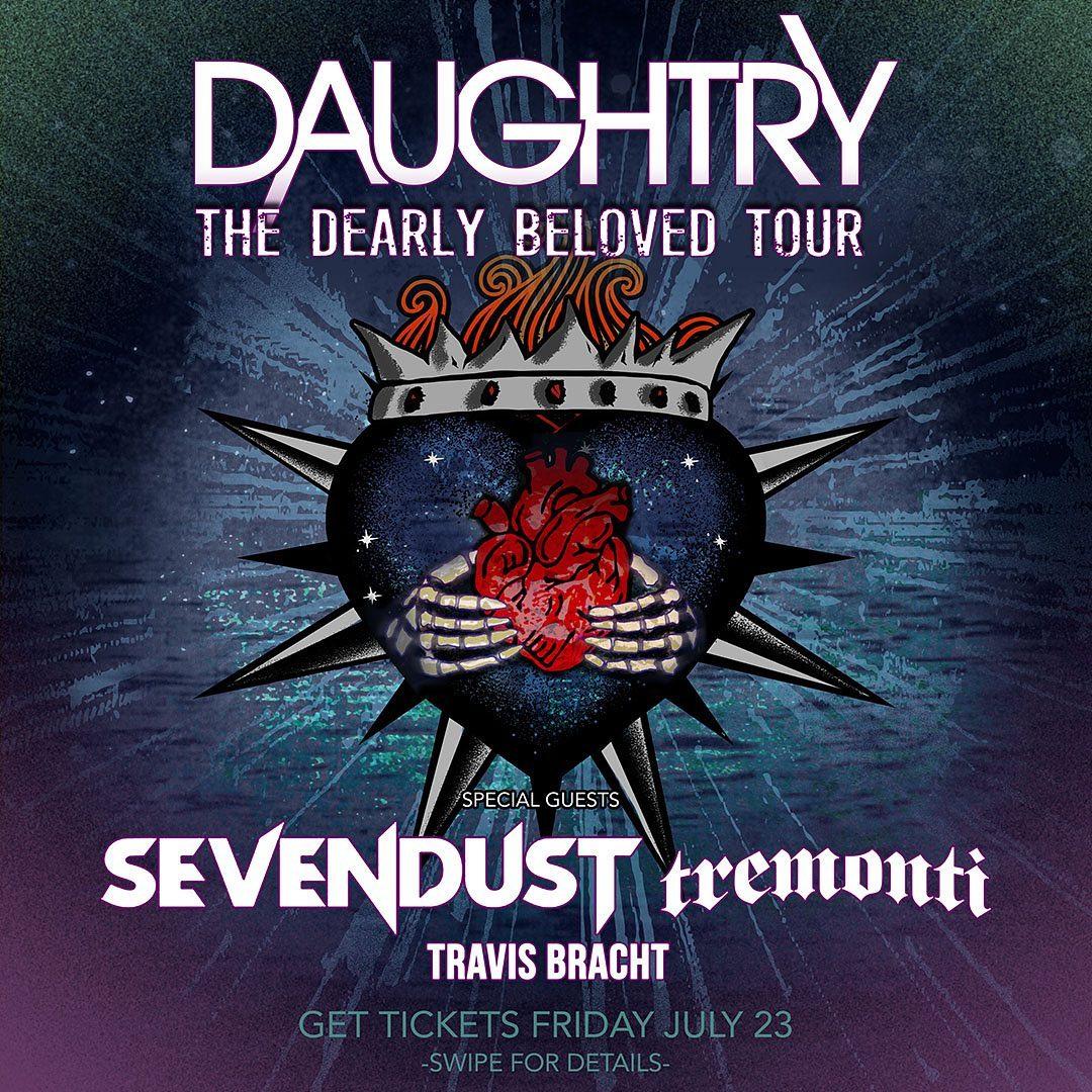 December 15 – ROCK 100.5 Presents: Daughtry with Sevendust, Tremonti, & Travis Bracht