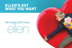 Ellen's got what you want. Enter to Win $250!