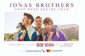 Win tickets to the Jonas Brothers Happiness Begins Tour