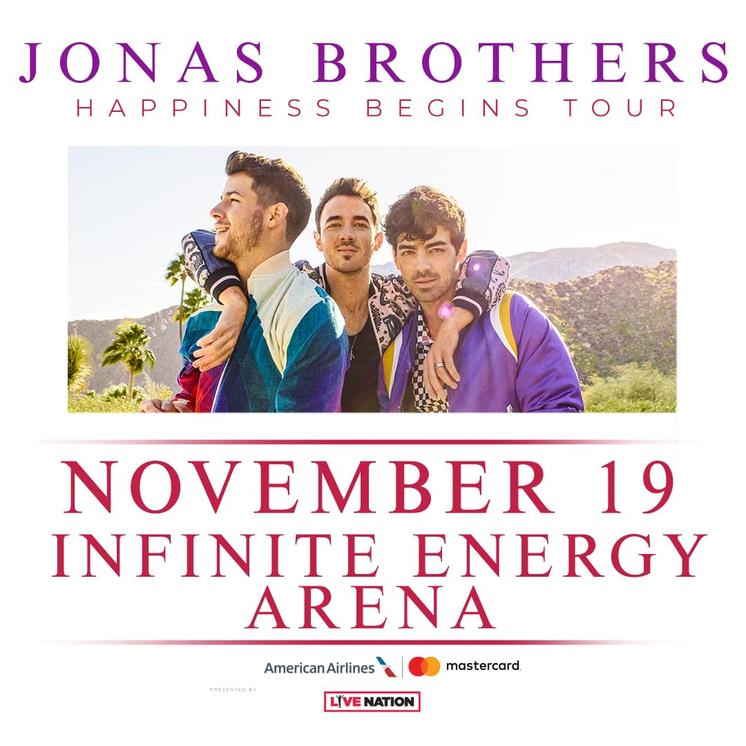 Nov 19 – Jonas Brothers