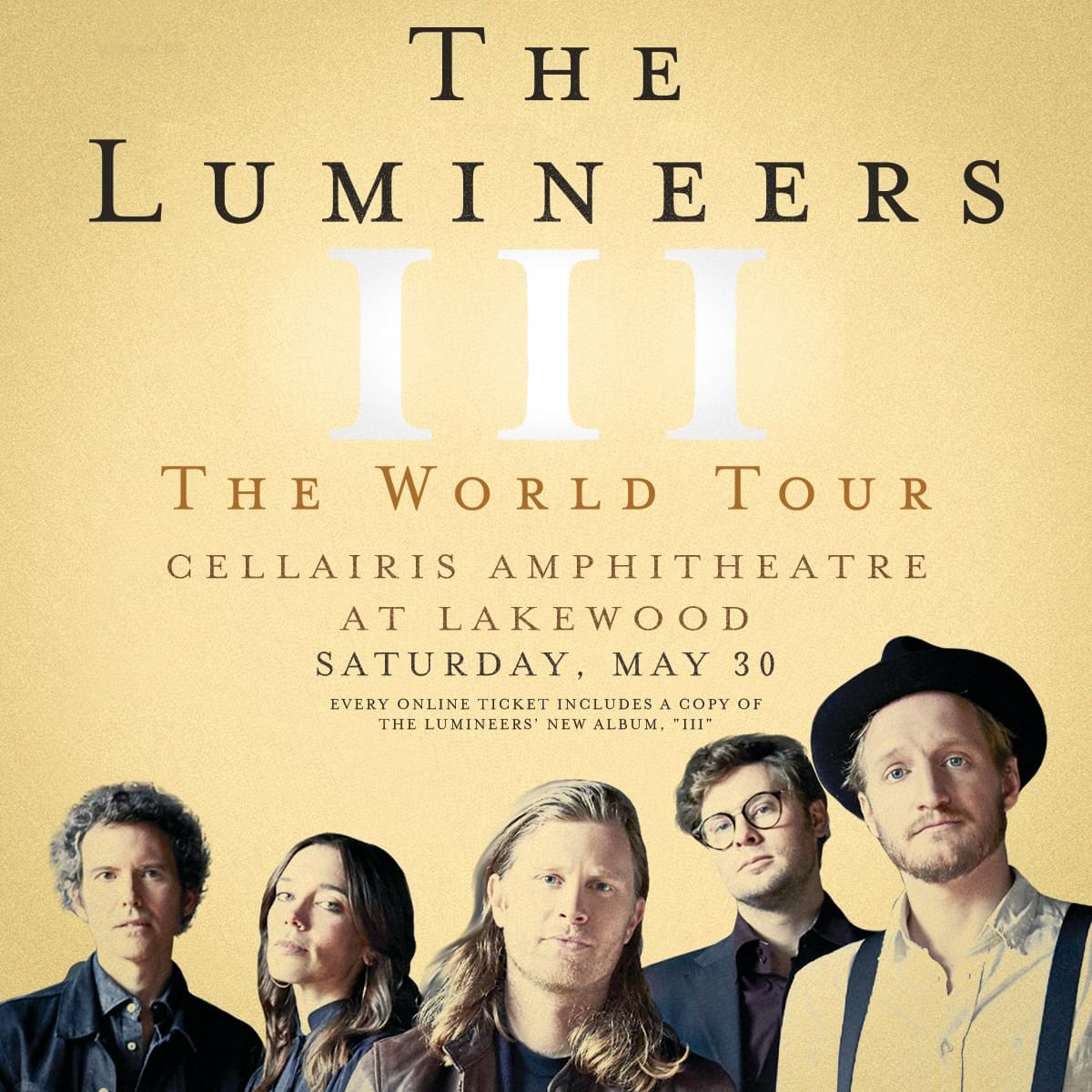 May 20 – The Lumineers