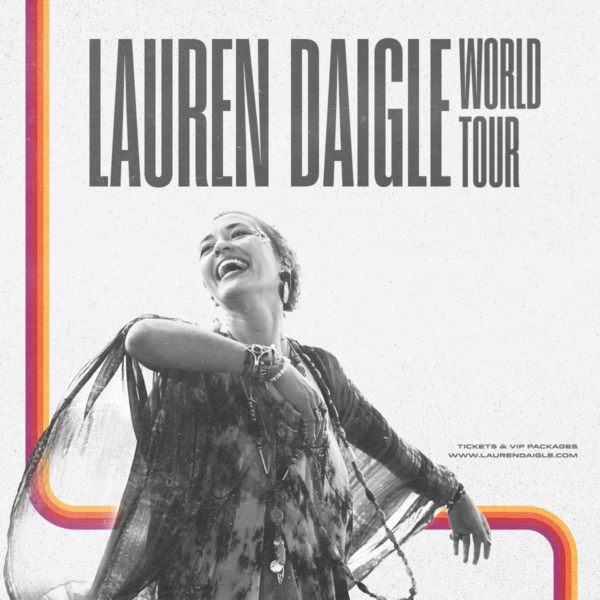 May 7 – Lauren Daigle