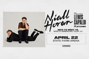 Apr 22 – Niall Horan