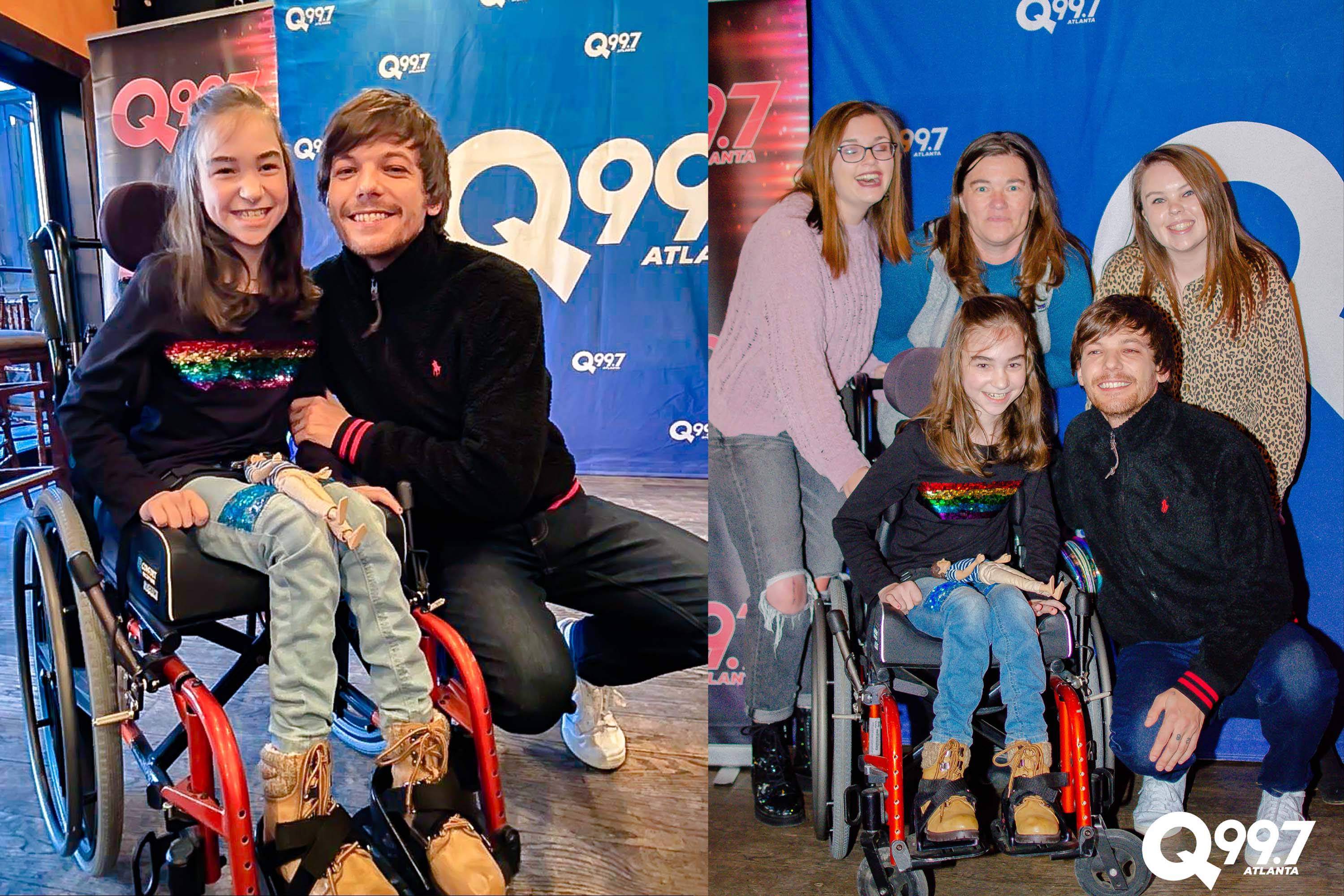 Q99.7 Atlanta Surprises A Young Fan With Her Dream, Meeting Louis Tomlinson | Q-Daily